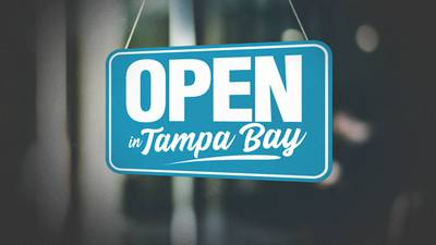 Tampa is Still Open For Business!