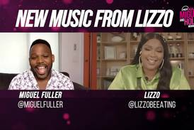 Lizzo Spills The Tea With Miguel