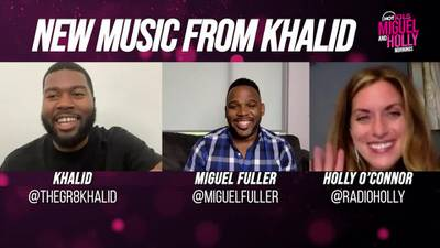"""Khalid: """"When I learn to dance, it's over for you b*tches!"""""""