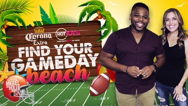 Miguel & Holly Find Your Game Day Beach!
